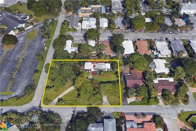 Wilton Manors Single Family Home For Sale: 1625 NE 24th St