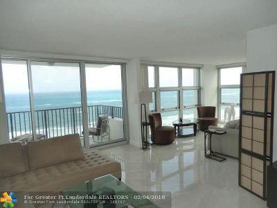 Pompano Beach Condo/Townhouse For Sale: 531 N Ocean Blvd #1712