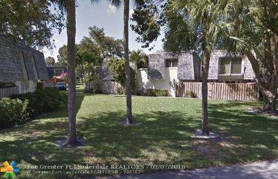 Davie Condo/Townhouse For Sale: 8911 SW 20th Pl #C-21