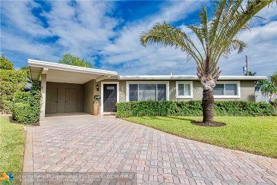 Pompano Beach Single Family Home Backup Contract-Call LA: 1310 SE 4th Ave