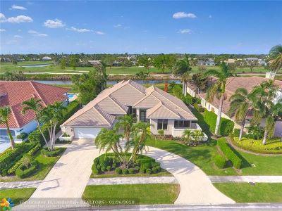 Boca Raton Single Family Home For Sale: 4180 Bocaire Blvd