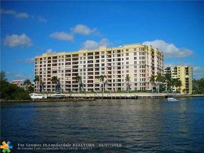 Pompano Beach Condo/Townhouse For Sale: 2880 NE 14th Street Cswy #608
