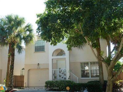 Plantation Single Family Home Backup Contract-Call LA: 10980 NW 12 Ct