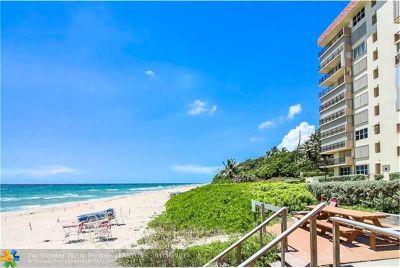 Hillsboro Beach Condo/Townhouse For Sale: 1149 Hillsboro Mile #PH2N