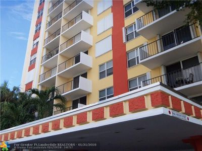 Condo/Townhouse For Sale: 1800 N Andrews Ave #4J