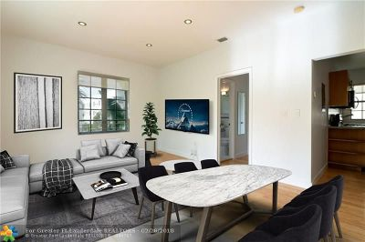 Miami Beach Condo/Townhouse For Sale: 815 Euclid Ave #3