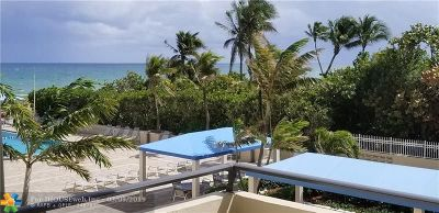Lauderdale By The Sea Condo/Townhouse For Sale: 2000 S Ocean Blvd #2G