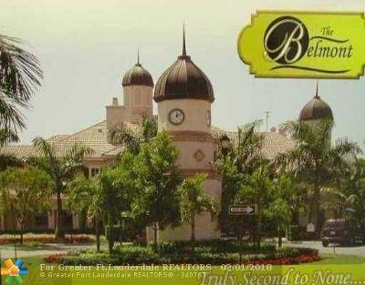 North Lauderdale Condo/Townhouse For Sale: 1803 Belmont Ln #1803