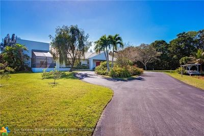 Southwest Ranches Single Family Home Backup Contract-Call LA: 17350 SW 52 Ct