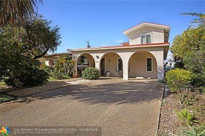 Pompano Beach Single Family Home For Sale: 709 NE 24th Ave