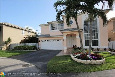 Coconut Creek Single Family Home Backup Contract-Call LA: 5439 NW 45th Way