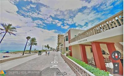 Hollywood Condo/Townhouse For Sale: 1910 N Surf #7