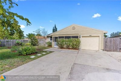 Miramar Single Family Home Backup Contract-Call LA: 1820 SW 82nd Ter