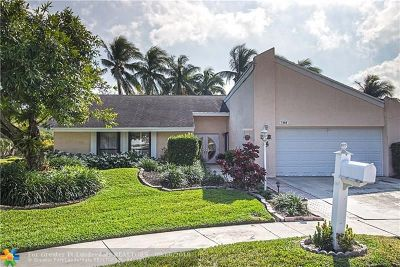 Plantation Single Family Home For Sale: 7900 NW 5th Ct