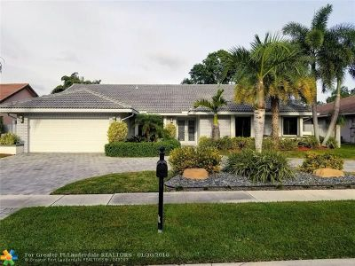 Plantation Single Family Home For Sale: 1620 NW 100th Way