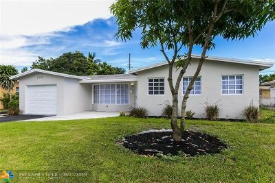 Lauderhill Single Family Home For Sale: 2220 NW 50th Ave