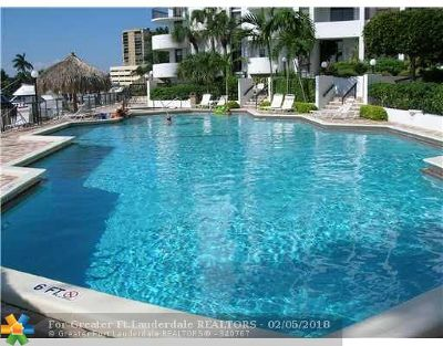 Pompano Beach Condo/Townhouse For Sale: 1361 S Ocean Blvd #1005