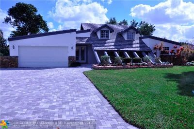 Coral Springs Single Family Home For Sale: 2511 NW 115th Ave