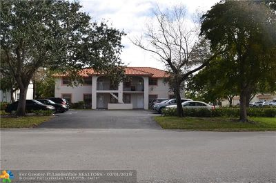 Coral Springs Multi Family Home For Sale: 3501 NW 114th Ln