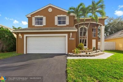 Coconut Creek Single Family Home For Sale: 5256 NW 55th St
