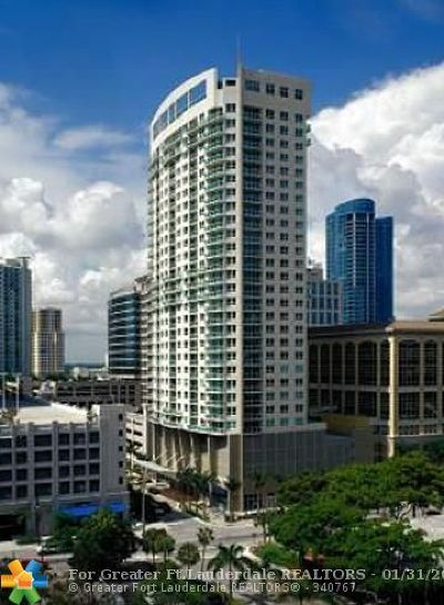 Fort Lauderdale Condo/Townhouse For Sale: 350 SE 2nd St #680