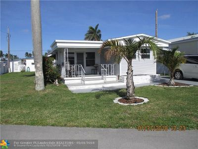 Davie Single Family Home For Sale: 8621 SW 19th St