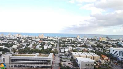 Miami Beach Condo/Townhouse For Sale: 650 West Ave #2408