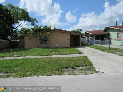 Fort Lauderdale Single Family Home For Sale: 2920 SW 11th St