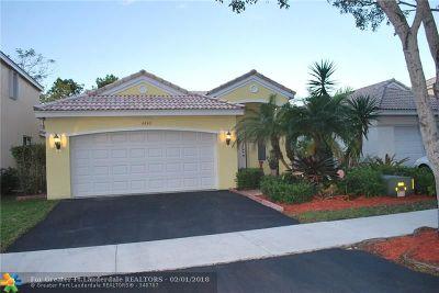 Weston Single Family Home Backup Contract-Call LA: 4430 Mahogany Ridge Dr
