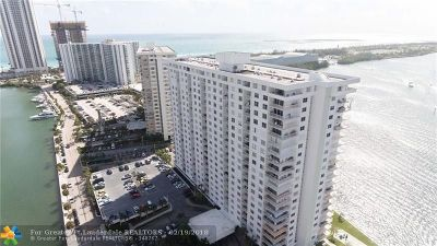 Sunny Isles Beach Condo/Townhouse For Sale: 500 Bayview Dr #1921