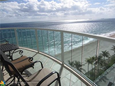 Fort Lauderdale Condo/Townhouse For Sale: 3410 Galt Ocean Drive #802 N