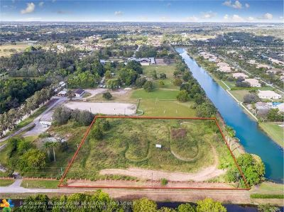 Southwest Ranches Residential Lots & Land For Sale: 5501 SW 130th Ave
