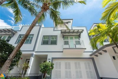 Fort Lauderdale Condo/Townhouse For Sale: 218 NE 15th Ave #218
