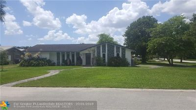 Coral Springs FL Single Family Home For Sale: $374,000