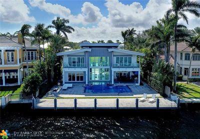 Fort Lauderdale Single Family Home For Sale: 2417 Aqua Vista Blvd