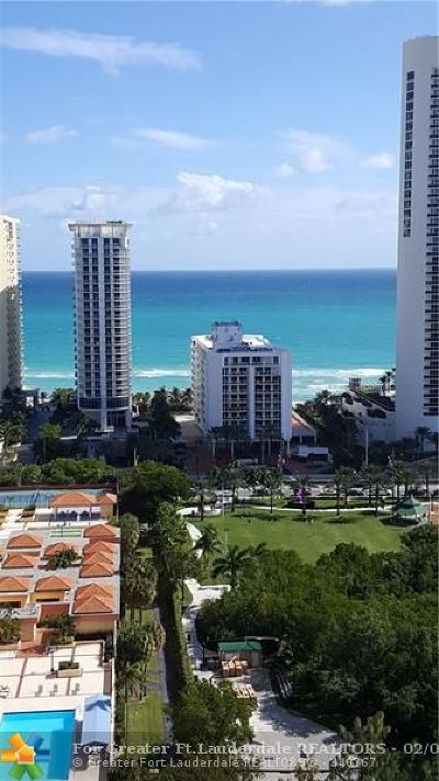 Sunny Isles Beach Condo/Townhouse For Sale: 230 174th St #2419