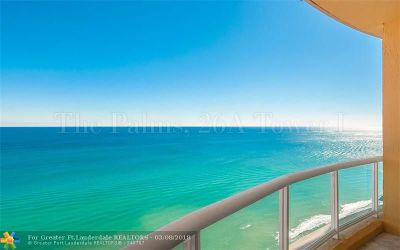 Fort Lauderdale Condo/Townhouse For Sale: 2100 N Ocean Blvd #26A