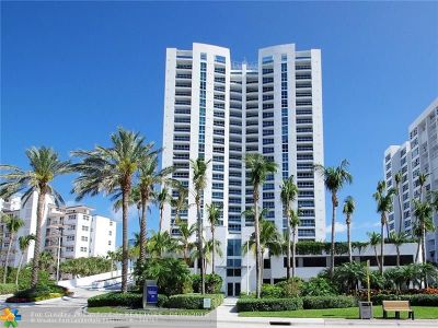 Condo/Townhouse For Sale: 1600 S Ocean Blvd #1202
