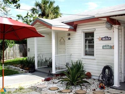Fort Lauderdale Single Family Home For Sale: 810 SE 14th Ct