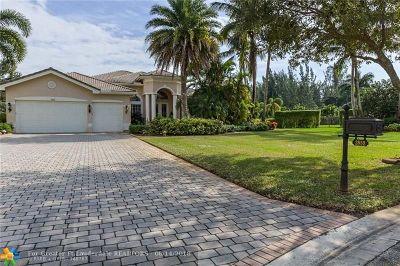 Davie Single Family Home For Sale: 3852 Churchill Downs Dr