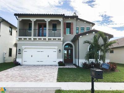 Boynton Beach Single Family Home For Sale: 8507 Grand Prix Ln