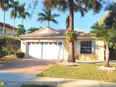 Pembroke Pines Single Family Home For Sale: 18731 NW 12th St