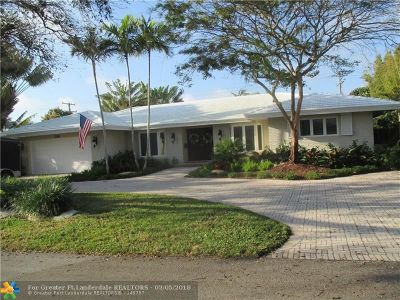 Fort Lauderdale Single Family Home Backup Contract-Call LA: 2608 NE 37th Dr