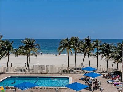 Pompano Beach Condo/Townhouse For Sale: 1000 S Ocean Blvd #PH-D