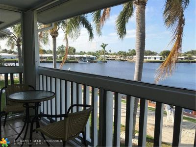 Pompano Beach Condo/Townhouse For Sale: 750 Pine Dr #18