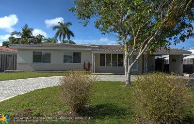 Wilton Manors Single Family Home Backup Contract-Call LA: 2301 NE 17th Ter