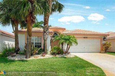 Boynton Beach Single Family Home For Sale: 3639 Hudson Ln