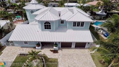 Lighthouse Point Single Family Home For Sale: 4931 NE 29th Ave