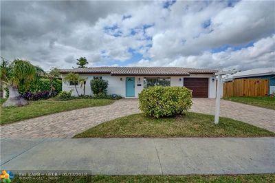 Pompano Beach Single Family Home For Sale: 331 SE 6th Terr