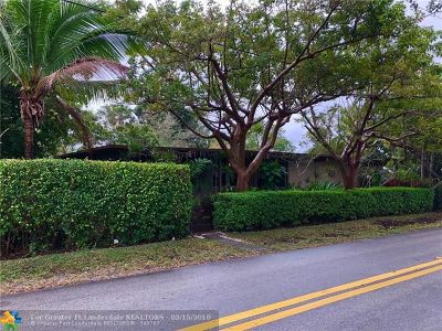 Fort Lauderdale Single Family Home For Sale: 1145 NE 14th Ave